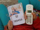 Ein Telefonbuch für die Kleinen … (DIY