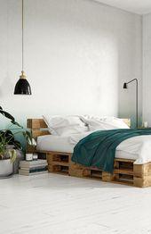 Bett Frisch Verliebt Selber Bauen Alle Mobel Create By Obi Diy Pallet Bed Pallet Bed Diy Bed