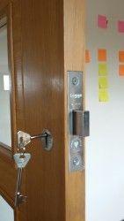 Need A Lock Fitted Here 39 S An Example Of A Lock We Fitted On An Oak Door Internal Doors Oak Doors Internal Oak Doors