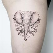 55 Cute Animal Tattoo Ideen zum Schmelzen Ihres Herzens – Seite 23 von 55
