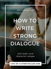 Comment écrire un dialogue fort   – Book Writing & Marketing Tips