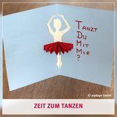 Tanzkurs Bild Von Jasmin Elbert Auf Geschenk In 2020 Tanzen Gutschein Basteln