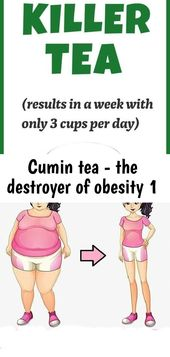 Cumin tea – the destroyer of obesity 1