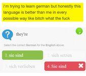 Und das Ende vom Lied war, dass Deutsch eine Sprache wurde, die dich immer wieder aufs Neue überrascht.