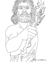 Greek Gods Coloring Pages Zeus The Greek King Of The Gods People Coloring Pages Monster Coloring Pages Avengers Coloring Pages