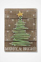 Fröhliche und helle Streichkunst #weihnachtenholz Fröhliche und helle Streicherkunst   – Christmas