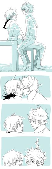 dorks by azngirlLH on DeviantArt  Awww xD Kyle don't be embarrassed that was so…
