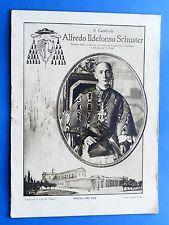 Storia Il Cardinale Alfredo Ildefonso Schuster Numero Unico 1929 Cardinali Biografia E Storia