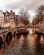 Photo of Amsterdam, Niederlande Reisen Amsterdam Fotografie und Reisen, Reisen inspirati …