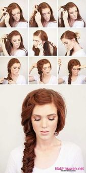 simple instructions for braiding hairstyles – #Short HairstylesLadies Blonde #Short HairstylesLadies Bob #Short HairstylesLadies Colorful