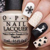 Deer Stencils for Nails, Christmas Nail Stickers, Nail Art, Nail Vinyls