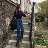 So stylt man Jeans und Ankle Boots im Herbst Winte…