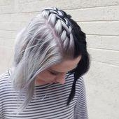 Cozy 35+ Unique Half And Half Hair Color Ideas For Cute Women uniqlog.com/… – Women's Fashion Styles