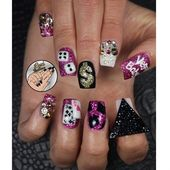 Vegas by leximartone – Nail Artwork Gallery nailartgallery.na… by Nails Journal w…
