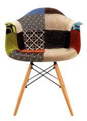 sillon eames patchwork el clsico silln eames tapizado en patchwork la vuelta de diseo