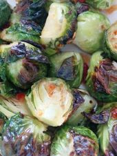 Roasted Brussels Sprouts with Sweet Chili Sauce – #brussels #chili #roasted #sau…   – fall recipe
