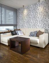 Modernes Interieur. Mit Zebramuster, #ad, #interior, #Modern, #pattern, #zebra …   – Abstract Design Drawing