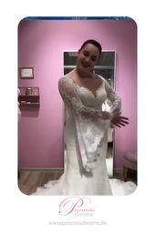 # Ärmar # blommabarn bröllopsklänningar # brudklänning # bröllopsklänningar 20-talet # hög …