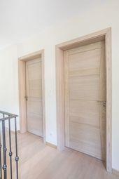Solid Wood Interior Door In Scandinavian Style Mist Porte D Interieur En Bois Massif Au Style S In 2020 Doors Interior Loft Interior Design Door Design Interior