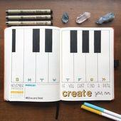 12 Aufzählungszeichen zum Thema Musik