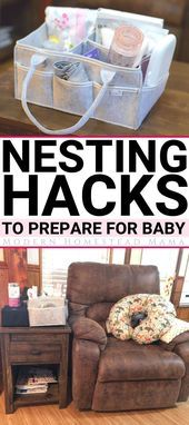 Nesting während der Schwangerschaft: Hacks & Tipps zur Vorbereitung auf das Baby,  #amp #…