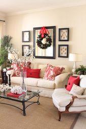 Bilder- und Spiegelrahmen im Familienzimmer vor …