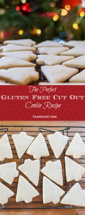 Perfect gluten and dairy free cut out cookies! from teabiscuit.org