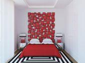 ¿Museo o habitación? Transforma tu cama en una verdadera pieza de arte con estas ideas de cabeceras