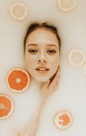 Beautiful Milk Bath Photography