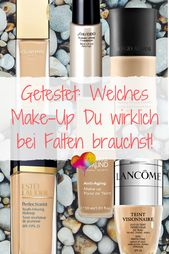 Welches Make-up mit Falten? 6 Favoriten für eine glattere Haut   – Make-Up Tutorials,  Beauty-Tipps & Inspiration