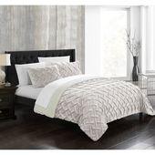 Noam Comforter Set by Chic Home Beige, Size: Queen