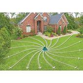 Lawn Circular Sprinkler Pattern Water Hose Spray Garden Base Aqua Impulse Best Lawn Sprinkler Lawn Sprinklers Circular Lawn