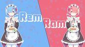 F: Zero Rem and Ram illustration, Re: Zero Kara Hajimeru Isekai Seikatsu HD wallp …