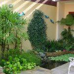 Fotos e ideias para um jardim simples e barato no quintal – jardim