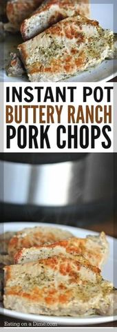Easy Pork Chops Ideas | Instant Pot Boneless Pork Chops Recipe