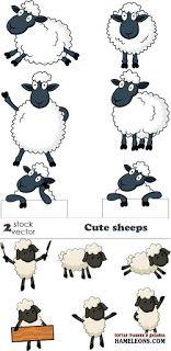 Alaa ثيمات وتصاميم وتوزيعات لعيد الاضحى جاهزه للطباعه Sheep Drawing Sheep Cartoon Sheep Art