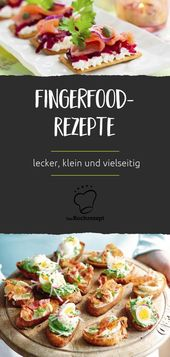 Fingerfood-Rezepte – Lecker Fingerfood für Silvesterparty