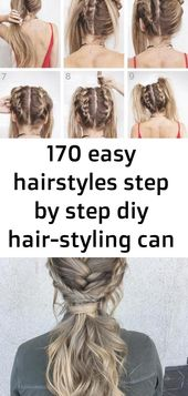 170 easy hairstyles step by step diy hair-styling can help you to stand apart from the crowds 1