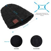 Bluetooth Beanie Hat, G.D.SMITH Hand – Free Wireless Bluetooth Music Knit Hat Cap with Speakerphone Stereo Headphone for Fitness Outdoor sport, Unique Christmas Tech Gifts for Women Men Boys and Girls – { fashion }