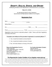 Academy Registration Form Template 7 Word Free Word Template Registration Form