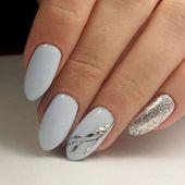 75 Outstanding Classy Winter Nails Art Design Ideas