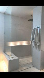 Bad, in der Dusche sitzen, Lichter #dusche #lichter #sitzen Badezimmer ideen – #dusche #lichter