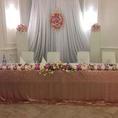 Dekoration # Hochzeit # Hochzeit # Rotgold # Hortensie # Rosen # Orchideen # …   – Places to Visit