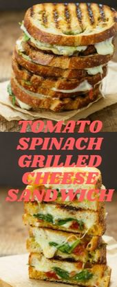 TOMATO SPINACH GRILLED CHEESE SANDWICH  I acquire partnered with Panera Lòlly t…