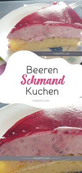 Beeren-Schmand-Kuchen