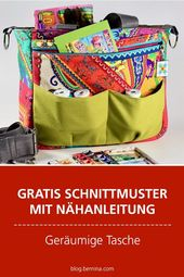 Sew accessory bag – tutorial and free sewing pattern  – Nähen