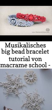 #bead #Large #bracelet #macrame #Musikalisches #faculty