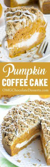 Pumpkin Coffee Cake  – baking
