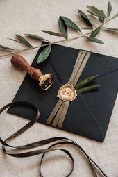 E + J INVITATIONS – Wedding Kitsch – #Invitations …