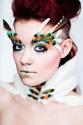 Gothic Raven Fotografie: Natalie Shau Fashion Works   – Creative MakeUp paint